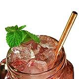 Kosdeg Copper Straws Set of 5 - A Refreshing Icy Breeze In Every Sip - Enjoy ...